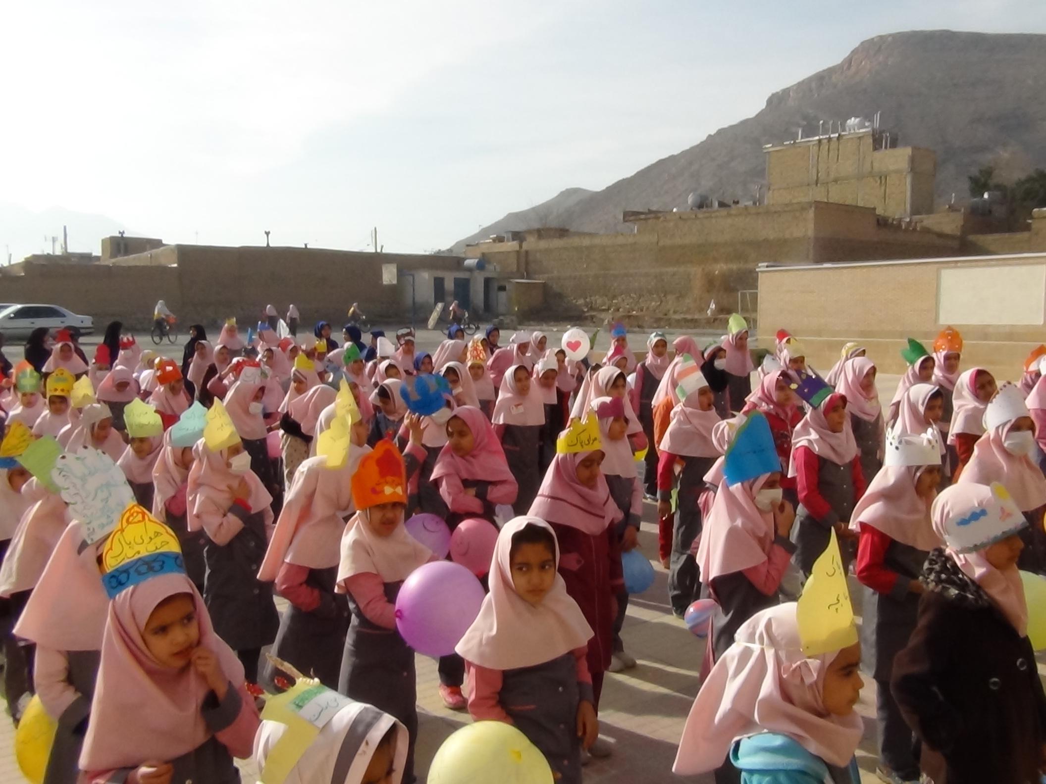 اجراي برنامه هاي آموزشي و فرهنگي به مناسبت روز جهاني زمين در شهرستان فلاورجان